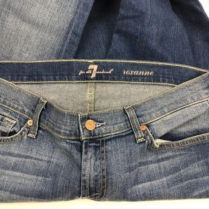 7 For All Mankind Jeans - NWOT 7 For All Mankind Roxanne Jean